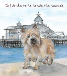 beside the sea card