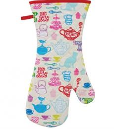Tea Party Oven Glove
