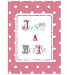 Polkadot Note cards