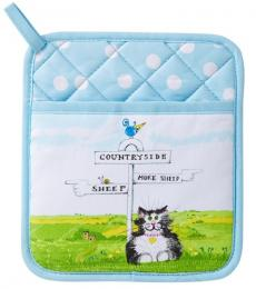 Countryside Cat Pot Mitt