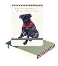 patterdale terrier notebook little dog laughed anna danielle