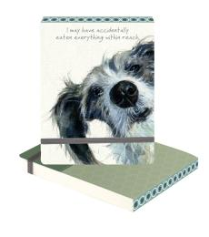 lurcher notebook accidentally little dog laughed anna danielle