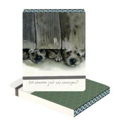 border terrier sausage notebook little dog laughed anna danielle