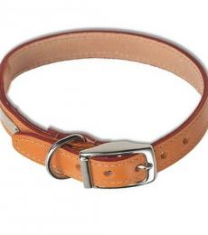 Ancol tan leather collar 22 inch