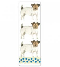 Alex Clark Art Jack Russell Magnetic Bookmark