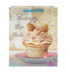 Butterfly Cupcake Gift Bag
