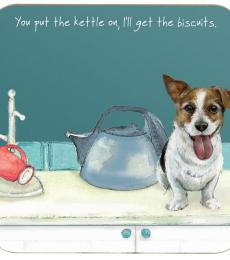 kettle biscuits coaster