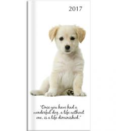 Gifted Staionery Company Pocket Diary 2017 Adorable Dogs