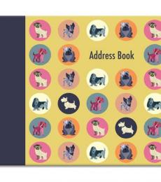 dot the dog address book