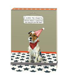 party dog notepad