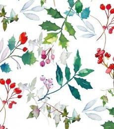 Milkwood Festive Feel Christmas Wrapping Paper Holly & Ivy