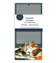 cat magnetic notepad