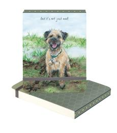 not mud dog notepad