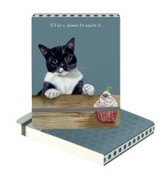 cupcake cat notepad