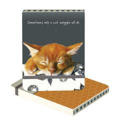 ginger kitten snuggles notebook little dog laughed anna danielle