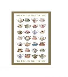 Tea Time Tea Towel Lesser and Pavey