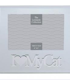 I love my cat glass mirror photo frame lesser and pavey leonardo collection