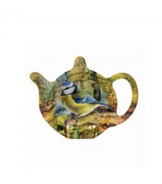 blue tit bird teabag tidy