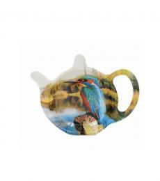 kingfisher bird teabag tidy