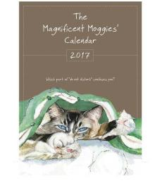 Little Dog Magnificent Moggies Calendar 2017