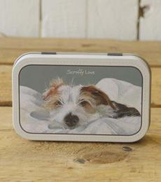 'Scruffy Love' Metal Mint Tin
