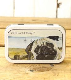 'Fish & Chips' Metal Mint Tin