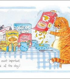 alison's animal greeting cards most importantmeal of the day