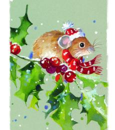 mouse christmas tags ling design