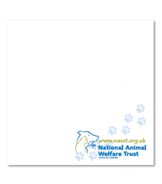 NAWT Sticky note pad National Animal Welfare Trust