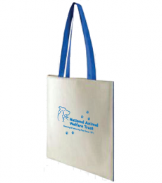 National Animal Welfare Trust reusable cotton shopping bag