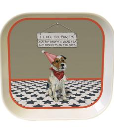 little dog laughed party trinket tray