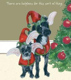 little dog laughed helpline christmas card