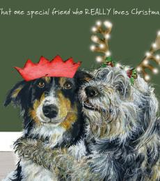 Special Friend Christmas Card (single)