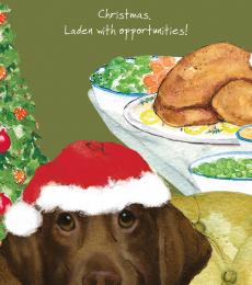 laden labrador card