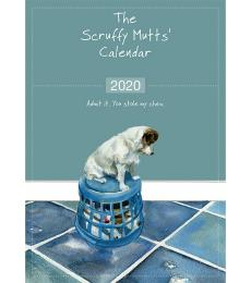 scruffy mutts calendar 2020 little dog laughed