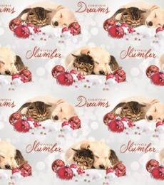 Otterhouse Sleeping Buddies and Baubles Christmas Gift Wrap