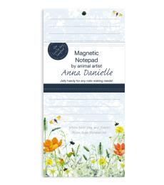 nature hope magnetic butterfly notepad