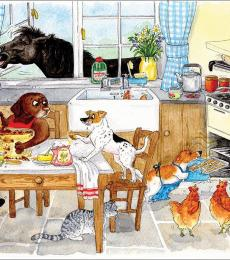 alison's animal greeting cards james herriott too many cooks