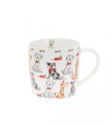 Cartoon Multiple Dogs Mug