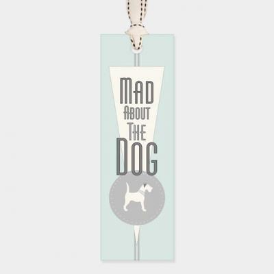 mad about the dog bookmark east of india