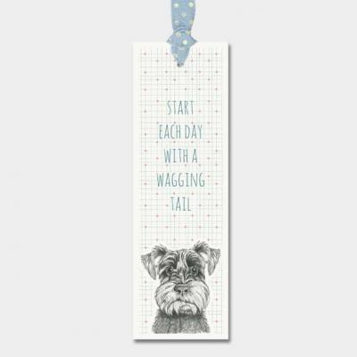 start each day with a wagging tail bookmark east of india