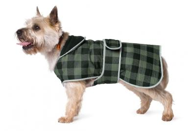 Moorland Green Dog Coat