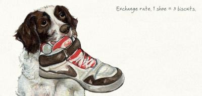 exchange rate dog card