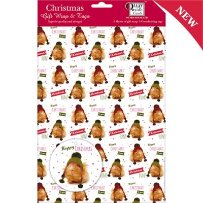 Christmas Guinea Pigs Wrapping Paper