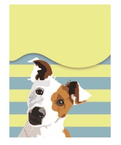WT Jack Russell Notepad