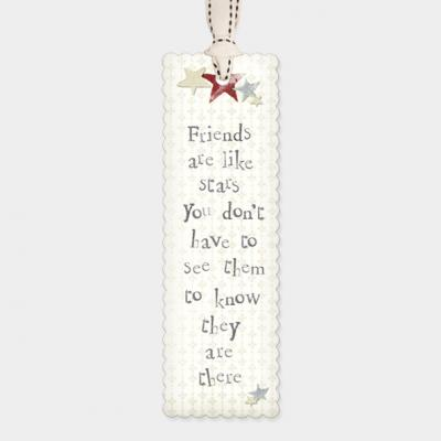 friends are like stars bookmark east of india