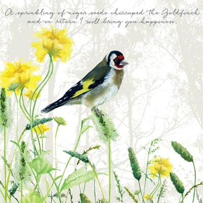 goldfinch greeting card little dog laughed anna danielle