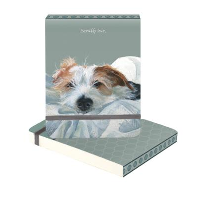 jack russell terrier notebook scruffy love little dog laughed anna danielle