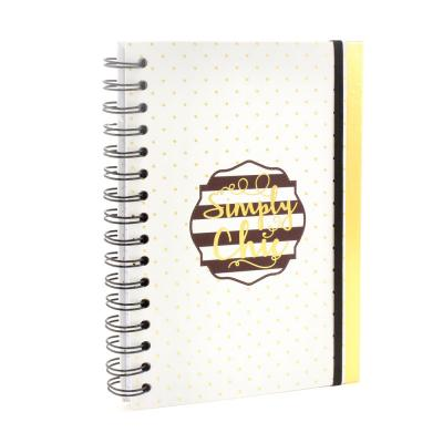 simply chic spiral notebook lesser and pavey