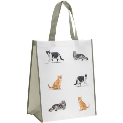 Cat breed shopping bag